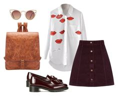 """""""Untitled #15"""" by aloha-tsyglina on Polyvore featuring Oasis, Dr. Martens and Quay"""