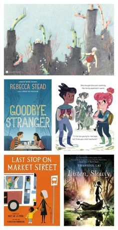 NPR's list of the Best Kids' Books of 2015: From children's picture books to YA novels.
