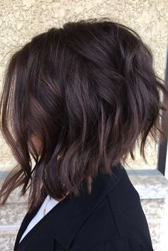 23 Best Bob Haircuts for Thick Hair 2018 – 2019 - iHairstyles Website Best Bob Haircuts, Inverted Bob Hairstyles, Short Hairstyles For Thick Hair, Haircut For Thick Hair, Short Curly Hair, Bobs For Thick Hair, Choppy Bob For Thick Hair, Curly Bob, Reverse Bob Haircut