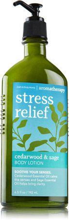 Cedarwood & Sage Body Lotion - Aromatherapy - Bath & Body Works