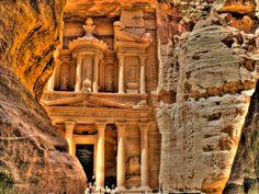 Petra, the world wonder.