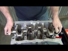 How To Rebuild A 1.3L Suzuki Samurai Engine (Part 1) Crankshaft Installation - YouTube