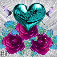 LunaPic Our wedding, Daizo💗💒 Bling Wallpaper, Flowery Wallpaper, Heart Wallpaper, Love Wallpaper, Beautiful Love Pictures, Beautiful Gif, Beautiful Flowers, Coeur Gif, Corazones Gif