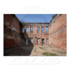 Old Abandoned Building in Shreveport, Louisiana Print