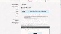 Personalización de Blogs, blog sobre blogs: como crear un blog y trucos blogger: Como poner un botón de Pin it de manera individual
