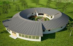 Torus Design: Duplex technically; Could be used as a main and mother-in-law suite design.