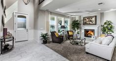 #MountainHouseCA #NewHomes #Heritage Heritage by Woodside Homes - Twain Model Family Room