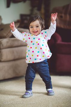 This little one is so excited about her new SmartStrand rug! lifetime anti static warranty