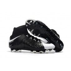 the best attitude 3a5ed 07291 New Nike Hypervenom Phantom III DF FG High Top Soccer Cleats - Black White  Top