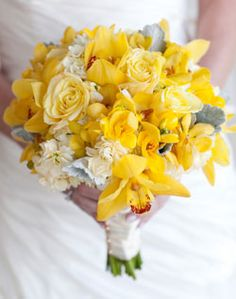 whites and grays and YELLOW wedding flower bouquet, bridal bouquet, wedding flowers, add pic source on comment and we will update it. www.myfloweraffair.com can create this beautiful wedding flower look.