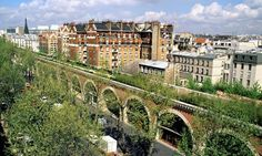 The Promenade Plantée is a linear park spanning kilometres built atop a disused railway line in the east of Paris. Starting from Bastille, the first part of the walkway is elevated on the . Bastille, Paris France, Linear Park, Tourist Trap, High Line, Paris City, Paris Paris, I Love Paris, World's Most Beautiful