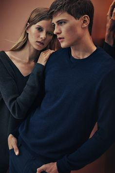 His + hers. Gift cozy sweaters from Calvin Klein to everyone on your list this holiday season.