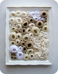 Ghost Reef Crochet Sculpture
