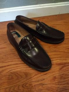 ab546742f6f These Men s Penny Loafer are size These loafers are very shiny with very  little usage seen.