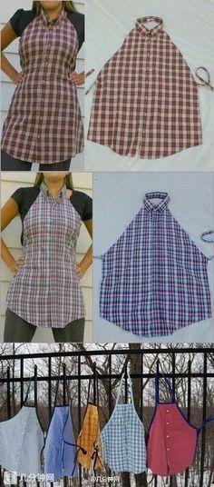 Shirt transformation apron yo zitanenitollattamxdd