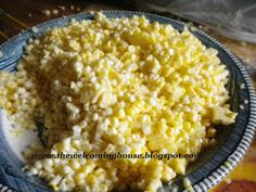 The Welcoming House: Waste Not, Want Not.........the Many Delicious Ways to Use Up an Ear of Corn........