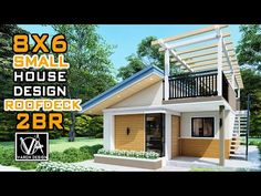 Simple Bungalow House Designs, Best Small House Designs, Bungalow Style House, Small Modern House Plans, Small Bungalow, Modern Small House Design, Bungalow House Plans, Simple House, Small House Layout