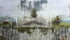 Peter Hoffer, Mantegna 2013, Oil, acrylic, and resin on panel