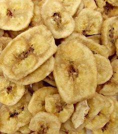 Recept: Bananenchips