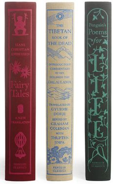 Hans Christian Anderson Fairy Tales The Tibetan Book of The Dead Penguin's Poems for Life #penguinbooks #CoralieB-S