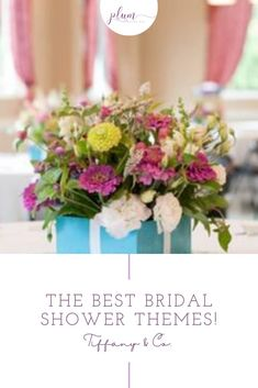 Plan the perfect bridal shower! Here are the BEST themes for 2021 / Bridal shower ideas / How to plan a Bridal Shower / Bridal Shower Inspiration / Lemon Bridal Shower / Garden / Southwest / Aloha / Something Blue / Tiffany's / Chanel / Adventure Awaits / Pearls of Wisdom Bridal Shower / Harry Potter / Friends Series / Pastel & Floral / Blush & Gold / Fiesta / Bohemian / Tea Party / Black & White Glam / Vogue Lingerie / Bubbles & Besties / Vintage Glamour / Scooped Up / Mint to Be / Rustic… Cool Themes, Bridal Shower Party, Pastel Floral, Blush And Gold, Vintage Glamour, Rustic Chic, Party Planning, Tea Party, Party Themes