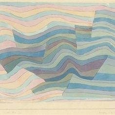 Stunning! Paul Klee (1879-1940) watercolour and pencil on paper laid down on the artist's mount. #Limedrop #loves #art