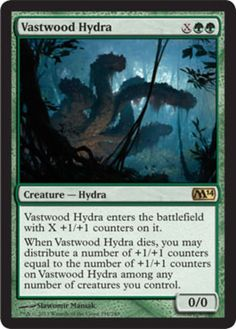 Savageborn Hydra FOIL Iconic Masters NM-M Red Green Rare MAGIC MTG CARD ABUGames kaartspellen Verzamelingen