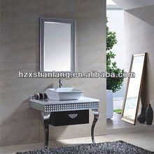 piso de acero inoxidable de pie <strong> </ strong baño> Armarios