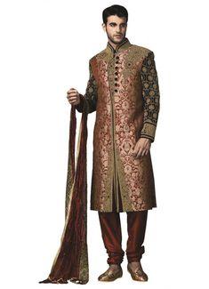 ethnic sherwani motif and design
