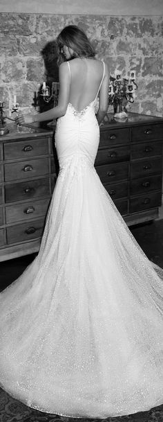 Wedding Dress by Julie Vino 2017 Romanzo Collection   Mermaid lace bridal gown