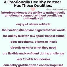 Emotional health is everything. And it's been ignored in culture for hundreds of years. The most important thing to understand about… Relationships Love, Healthy Relationships, Marriage Advice, Relationship Advice, Authentic Self, Self Esteem, Self Improvement, Words, Instagram