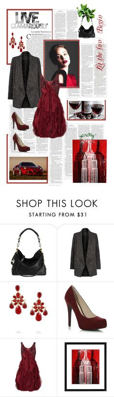 """""""Live Glamorously"""" by dreamer1983 ❤ liked on Polyvore featuring Biltmore, Alfa Lighting, Oscar de la Renta, Faith and Universal Lighting and Decor"""