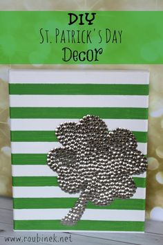 diy st. patricks day decor