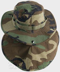 Helikon Army Boonie Bush hat – US Woodland Woodland 11209bc2d165
