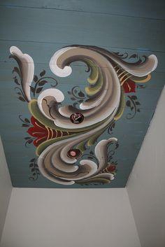 rosemaling | Ceiling Rosemaling | Flickr - Photo Sharing!