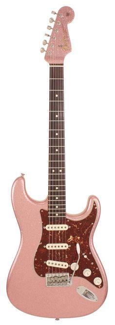 Fender Custom Shop 1964 Stratocaster Closet Classic Burgundy Mist Sparkle