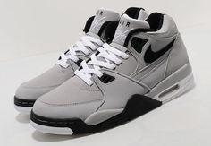 Nike Air Flight 89 Wolf Grey #Sneaker #Nike #AirFlight89