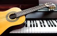 Piano & Guitar Lessons and another guitar
