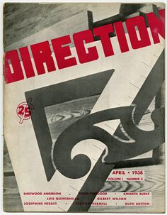 Modernism101.com | DIRECTION Volume 1, No. 4, April 1938. Painting On The Wall: Gilbert Brown Wilson's Murals for the High School in Terre Haute, IN.