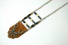 Tribal Breast Plate Necklace by FonetteMarieRachal on Etsy