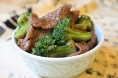 Clean Beef & Broccoli recipe. Loaded with protein, vitamins, minerals and healthy fats!