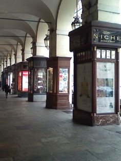 Turin Italy... angoli in via Po