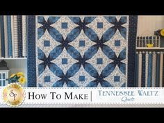 How to Make a Tennessee Waltz Quilt | with Jennifer Bosworth of Shabby Fabrics - YouTube