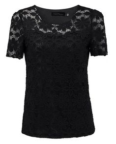 2016 Women Sexy Lace Chiffon Short Sleeve Flowers Tops Floral Sheer S-5XL