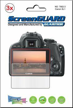 Canon Rebel SL1 (EOS 100D) LCD Screen Protector.