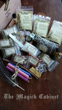 Large Witches Box, Traveling Altar, Ritual Tools, Herbs, Incense, Candles…