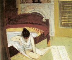 Edward Hopper Summer Interior | 1909. Oil on canvas. 61 x 73,7 cm. Whitney Museum of American Art, New York.