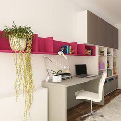 Proiecte mobilă la comandă - Portofoliu | ArtDecor House Corner Desk, House, Furniture, Design, Home Decor, Corner Table, Decoration Home, Home, Room Decor
