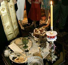 Slava table