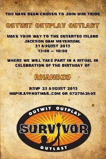 Survivor Party Postcard Invitation Take Part In A Celebration Of Natalie S Graduation